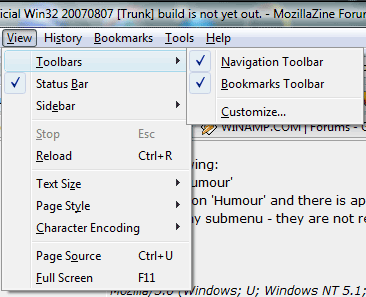 Firefox 3 with native menus