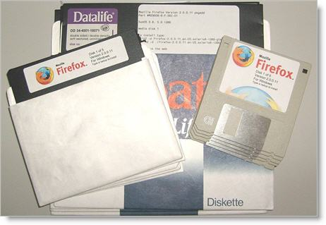 Firefox floppies