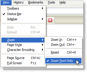 Firefox 3 Beta 4 optional zoom