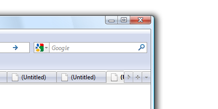 Firefox 3.5 theme update on Vista