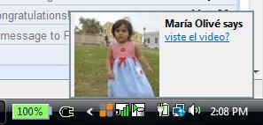 Firefox notification via Yip